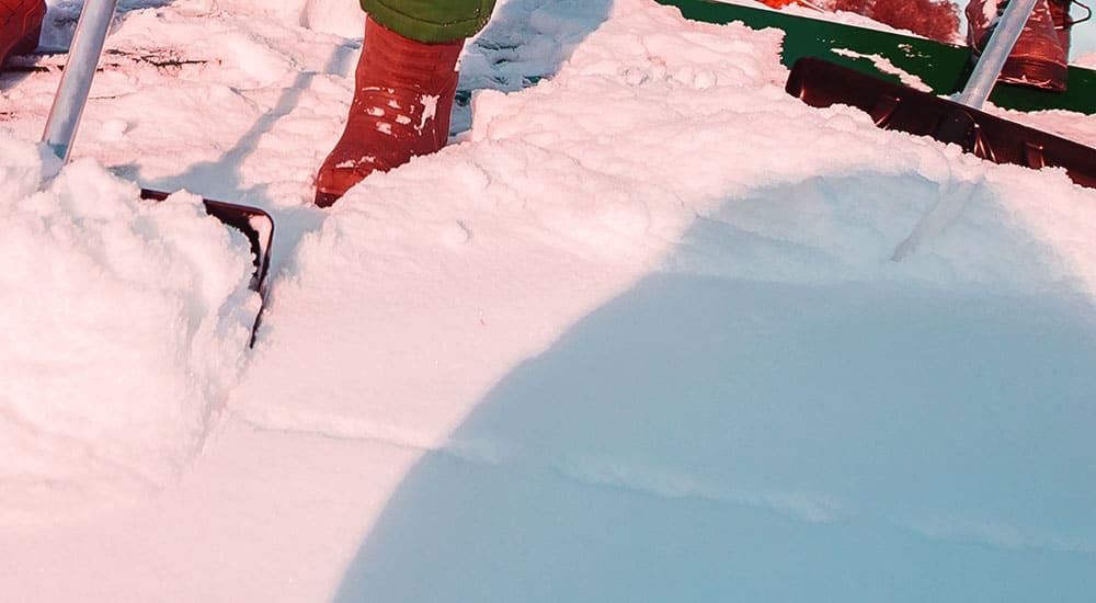 pudotamme lumet katolta aina turvallisesti sekä kattoa vahingoittamatta